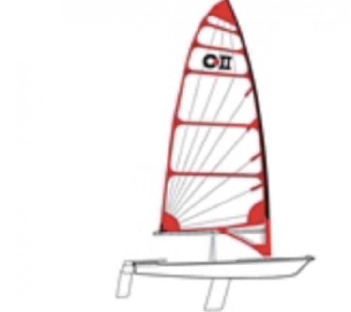 Veleiro Byte - Mastro de Carbono